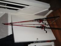 Fishing rods combo Shakespear (NEW) 7ft with reel & line