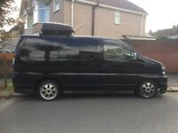 Nissan Elgrand , 8 seater , automatic , mot and taxed