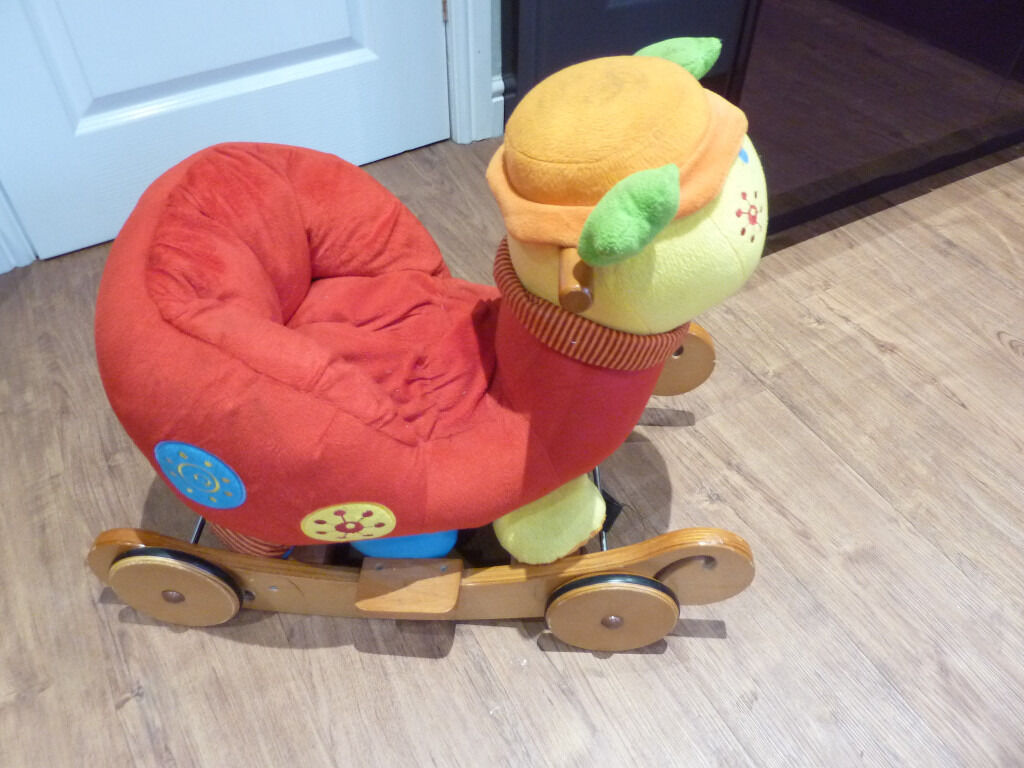 Mamas & Papas Rock & Ride along Lotty the Ladybird Rocker Chair