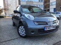 2007 NISSAN MICRA 1.2 PETROL MANUAL LOW MILAGE 91k DRIVES VERY WELL ONLY £995