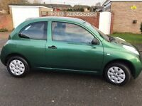 NISSAN MICRA *AUTOMATIC* 1.2, 3 Door Low Miles Long MOT FSH 53 plate...Leicester!!