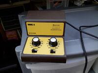 N Gauge or HO/OO Gauge Gaugemaster Model D twin track controller.