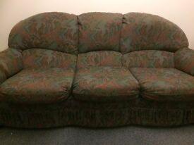 Three seater sofa £50 ono