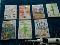Wii with Wii fit.