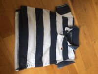 Baby GAP navy blue and white polo shirt size 6-12 months in excellent condition as hardly worn