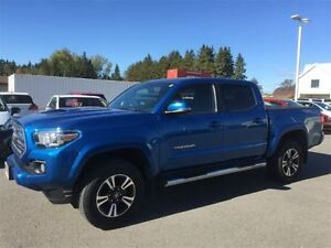 2016 Toyota Tacoma DOUBLE CAB TRD-6 SPEED MANUAL!