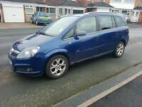 2007 07 Vauxhall Zafira 1.8 Very Low Mileage 1 Owner Full Service Including Cambelt