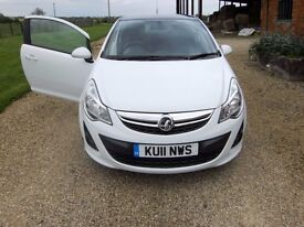 Vauxhall Corsa 1.2 Limited Edition 2011(low mileage)