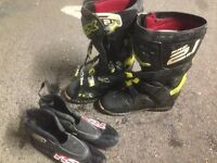 TCX Pro 2.1 motocross MX boots, nicer than Fox