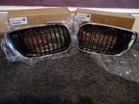 *NEW* - BMW 3 Series E46 Kidney Grill Chrome/Black (Part No. in Description)