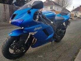 Zx6r for sale one owner from new alarmed immobilser new front tyre mot till june call 07816767195