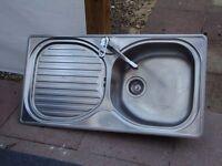 Franke Kitchen Sink complete with Franke Taps