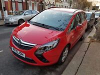 PCO Rent 2015 Vauxhall Zafira Tourer 7 SEATER £120 p/w PCO hire