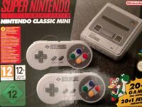 Nintendo SNES mini classic with over 300 games added