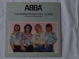 The Winner Takes It All/ Elaine 12 inch collectors item pop up