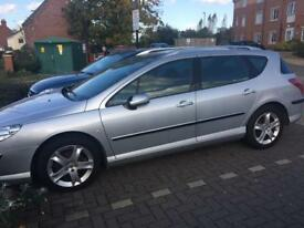 PEUGEOT 407 SW SE HDI ESTATE 2007.EXELLENT CONDITION.PX/SWAPS