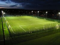 E14 Wed eves, 9pm KO. 4G artificial turf 9 a side. all welcome £5 per match