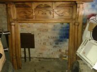 victorian old big fire surround looks really nice