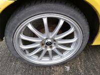 """Alloy wheels 17"""" 4x100 4x108"""