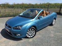 2007 07 FORD FOCUS 2.0 CC-3 CABRIOLET *ONLY 67,000 MILES* - JANUARY 2018 M.O.T - SUPERB EXAMPLE!