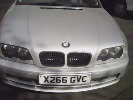 BMW 318CI (SPARES OR REPAIR)