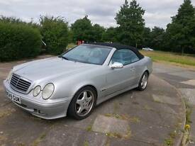 Mercedes CLK 3.2 V6 2d AUTO 218 BHP POWER HOOD HEATED LEATHER AUTO CABRIO/CONVERTIBLE