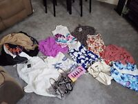 Ladies size 8-12 clothes (mostly size 10)
