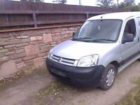 Citroen Berlingo 1.9 Diesel Breaking For Spares ONLY 2003 Model Prices From £5