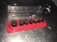 Snap on torx socket set