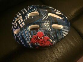 Children's Spider-Man bike helmet