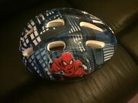 Children's Spider-Man bike helmet