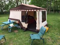 Awning for Combi-Camp trailer tent.