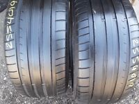 Part worn tyres/ used tyres/ TouchStoneTyresLondon/ 255/40/19 x 2 dunlop / pair