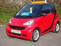 SMART FORTWO 0.8 PASSION CRD AUTO 2 DOOR finished in RED