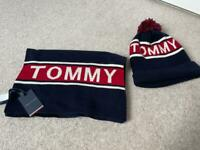 Tommy Hilfiger Hat and Scarf Brand New