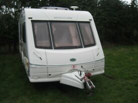 bessa carr cameo top of range 2002 2 berth caravan in very good condition