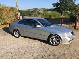 Mercedes CLK 2.2 Diesel - excellent condition and service history