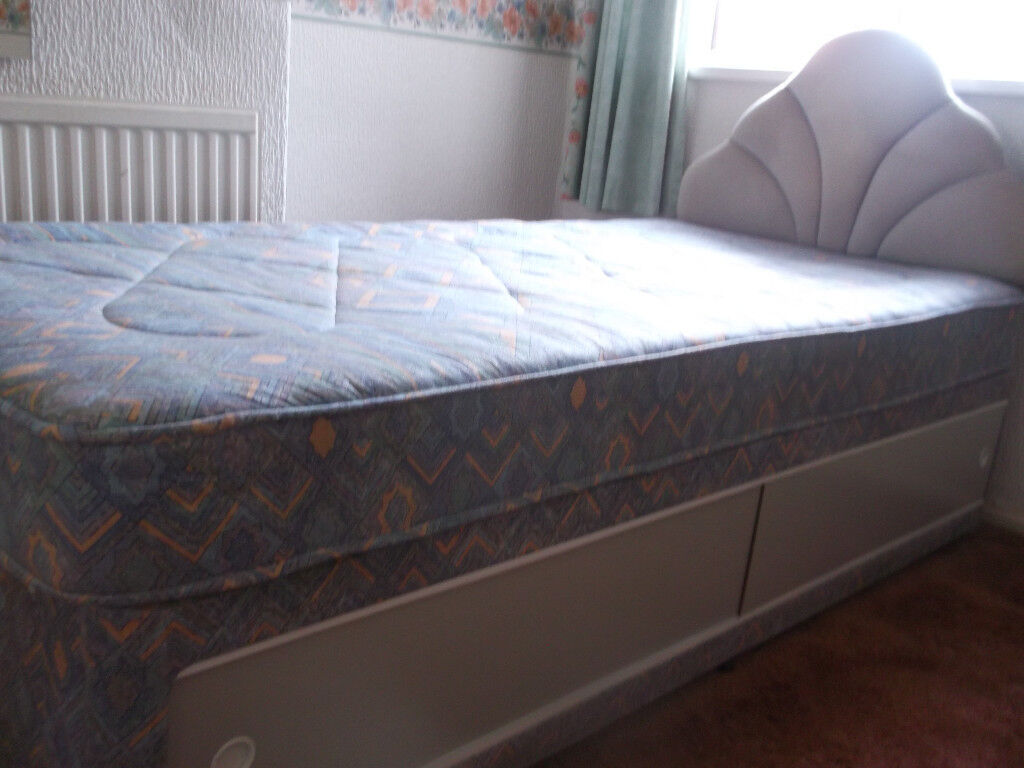 Single Bed With Headboard And Storage In Splott Cardiff