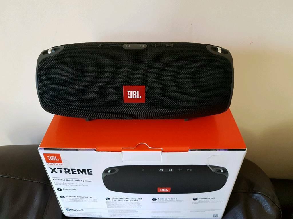 jbl xtreme portable bluetooth speaker in reddish. Black Bedroom Furniture Sets. Home Design Ideas