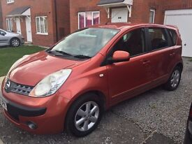 Nissan Note 1.6 16v SE 5dr Petrol Automatic 78470 Miles PX Welcome Good Condition. Rare Auto HPI OK