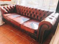 Chesterfield style 3 seater sofa
