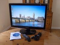 24-inch LCD Samsung SyncMaster T240HD TV Computer Monitor