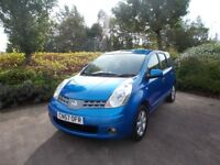 Nissan Note 1,5 Diesel Dci low tax 89000 fsh excellent on fuel over 55 mpg