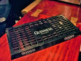 BEER DRIP TRAY. PUB DRIP TRAY WITH GUINNESS DRAUGHT LOGO.