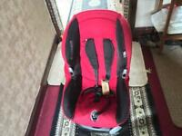 Maxi-cosi baby car seat unversal red 13-18kg Ex condition used £25