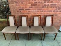 Vintage G Plan Fresco Dining Chairs
