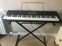CASIO LK-170 KEYBOARD with STAND