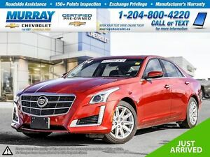 2014 Cadillac CTS 4dr Sdn 3.6L Luxury AWD *Bluetooth, Leather Se