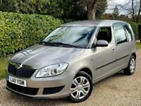 LEFT HAND DRIVE 2011 SKODA ROOMSTER 1.6 TDI [UK REGISTERED] DIESEL/ONLY 76K MILES!/MANUAL/XENON/LHD
