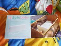 BABIES COT DIVIDER /SAFE SEATER FROM BIRTH